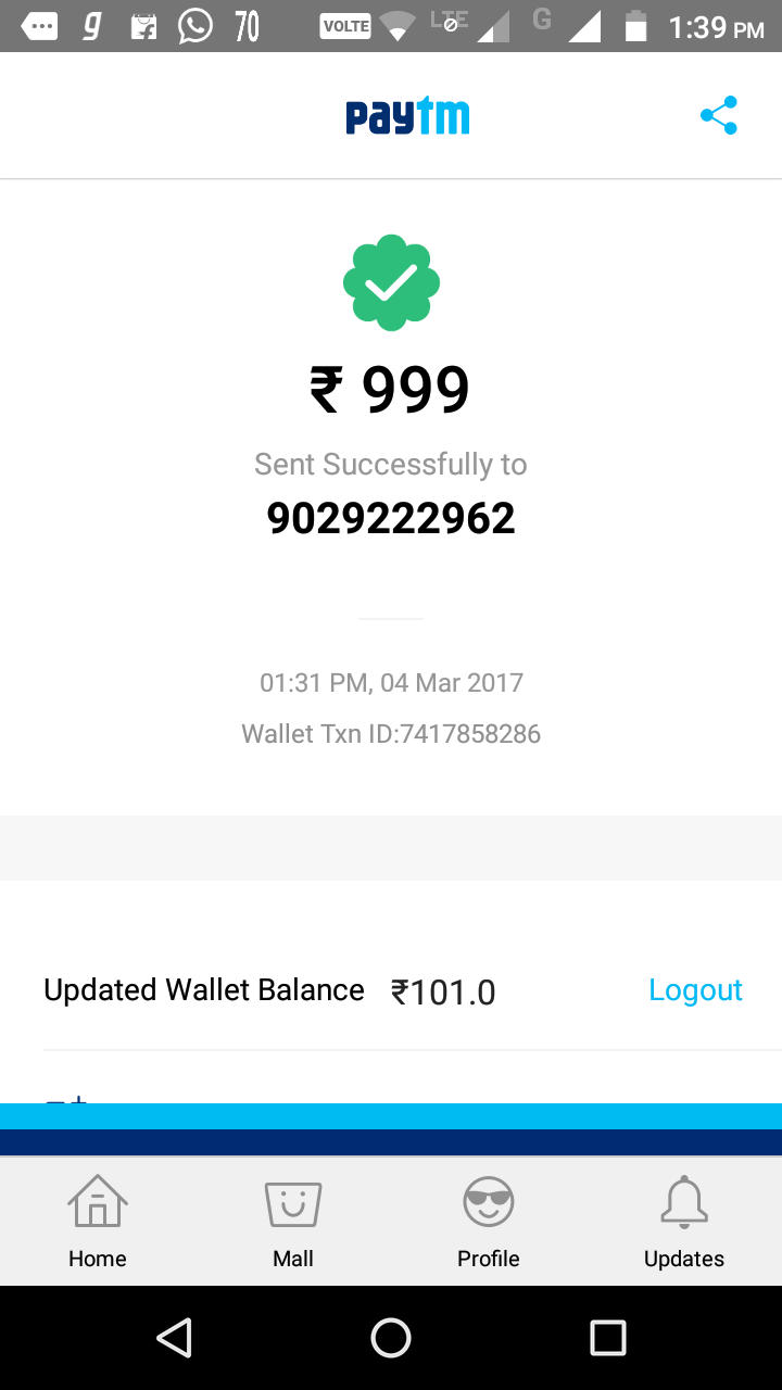 ��� Sexoclub In I Made Payment Of Rs 999 Through Paytm On